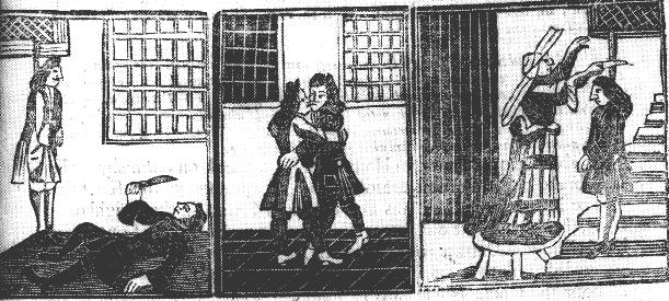 Gay men kill themselves after being arrested in 1707