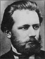 Tchaikovsky as a young man