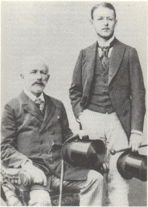 Tchaikovsky with his nephew Bob Davidov